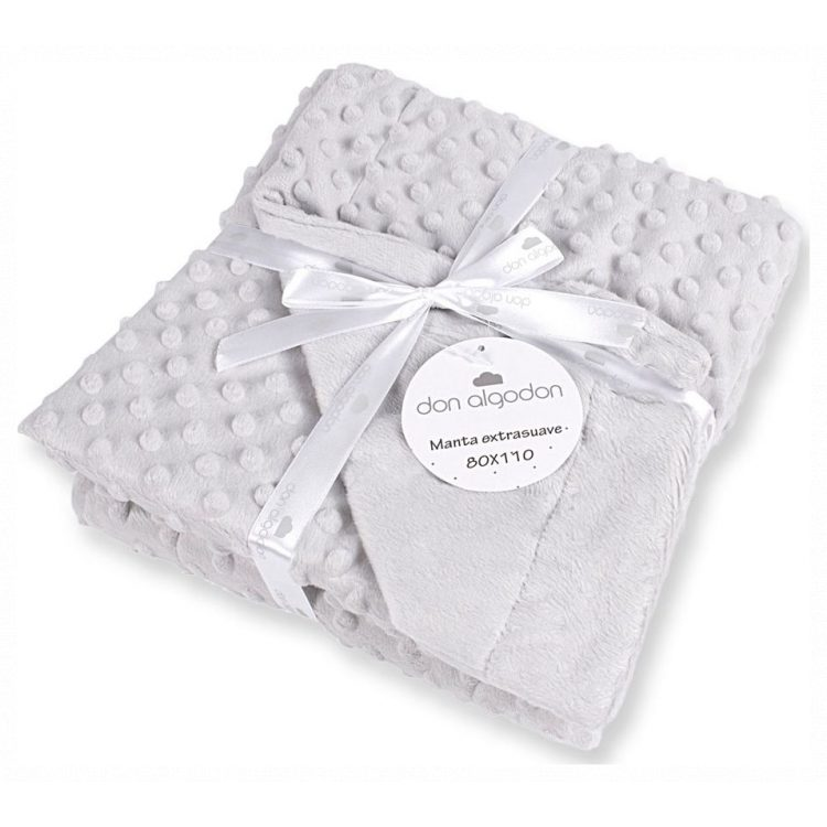 Κουβέρτα αγκαλιάς Don Algodon grey