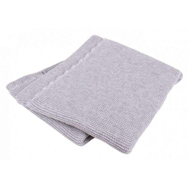Κουβέρτα αγκαλιάς Interbaby Βαμβακερή grey