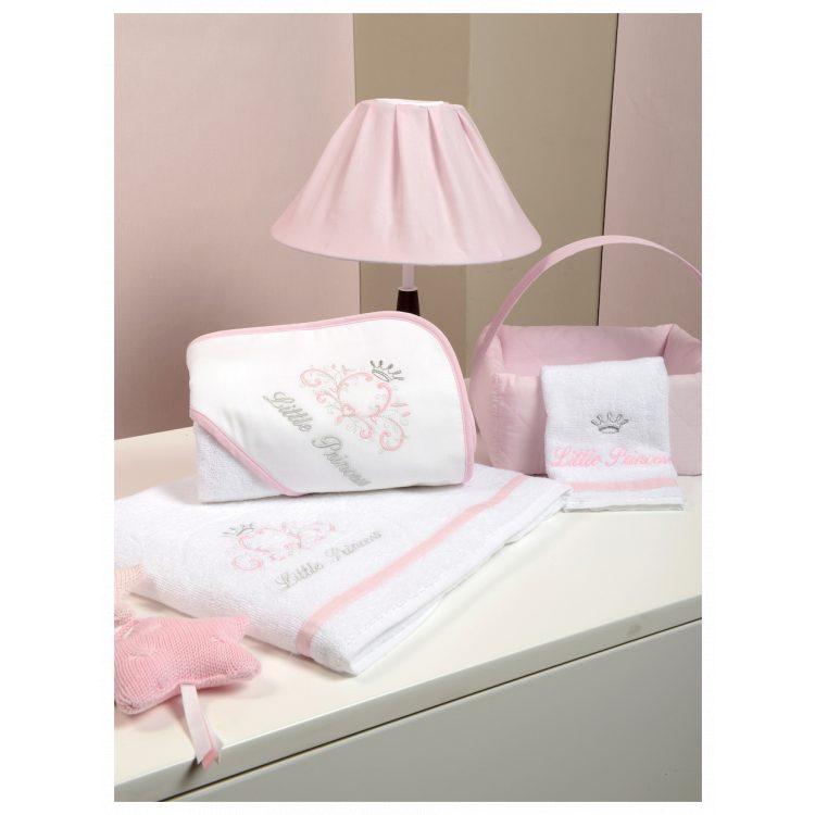 Πετσέτες σετ 2 τμχ Baby Oliver Little Princess