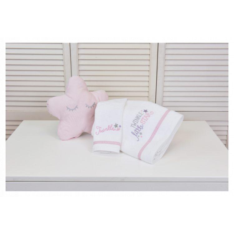 Πετσέτες σετ 2 τμχ Baby Oliver Twinkle Twinkle