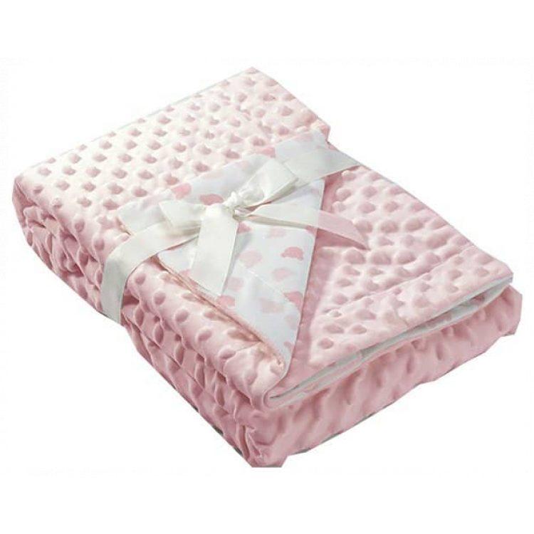 Κουβέρτα αγκαλιάς Mora Dubidu pink